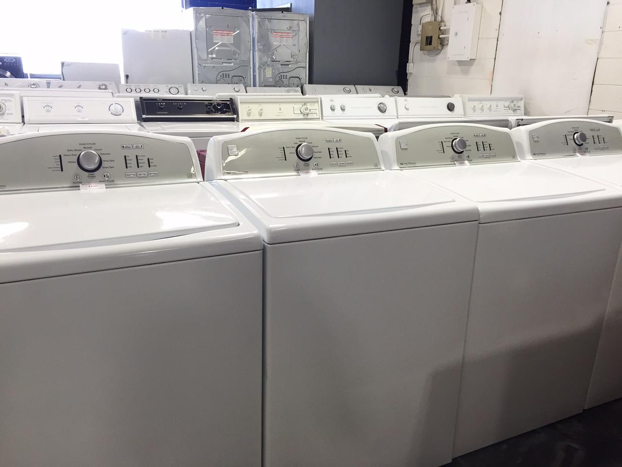 Edmonton used washing machines