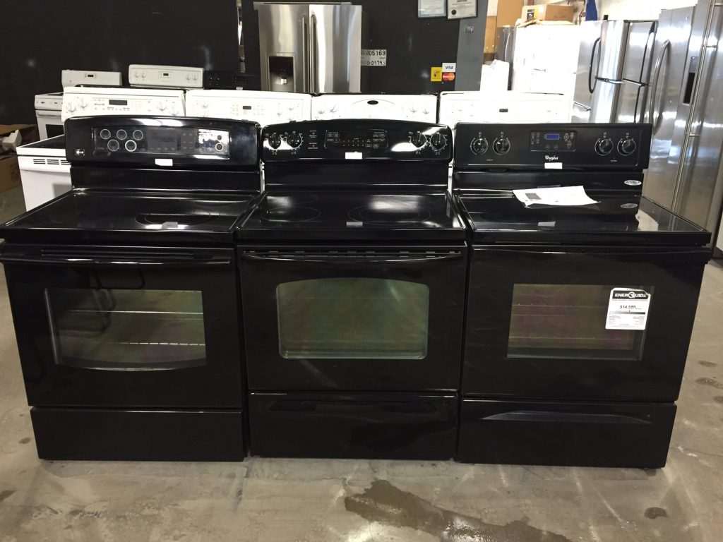 Edmonton Used Ranges and Cooktops