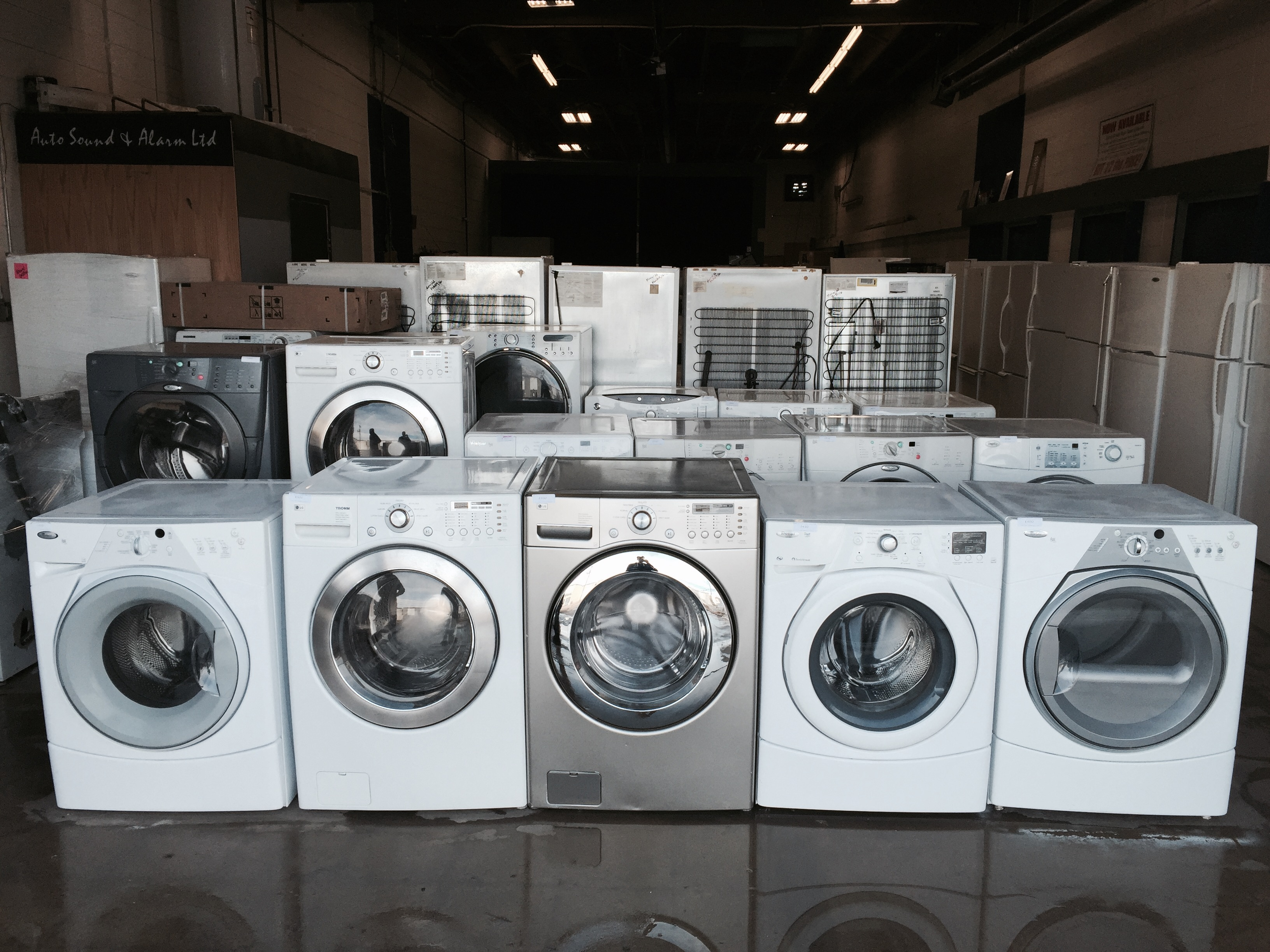 Edmonton Washers and Dryers - front and top load